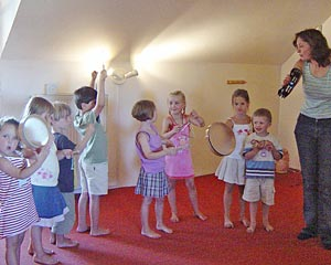 bewegung rhythmik mit behinderten kindern